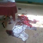 Scene of Islamic extremist attack on Administrative Police church in Garissa, Kenya, that killed pastor.