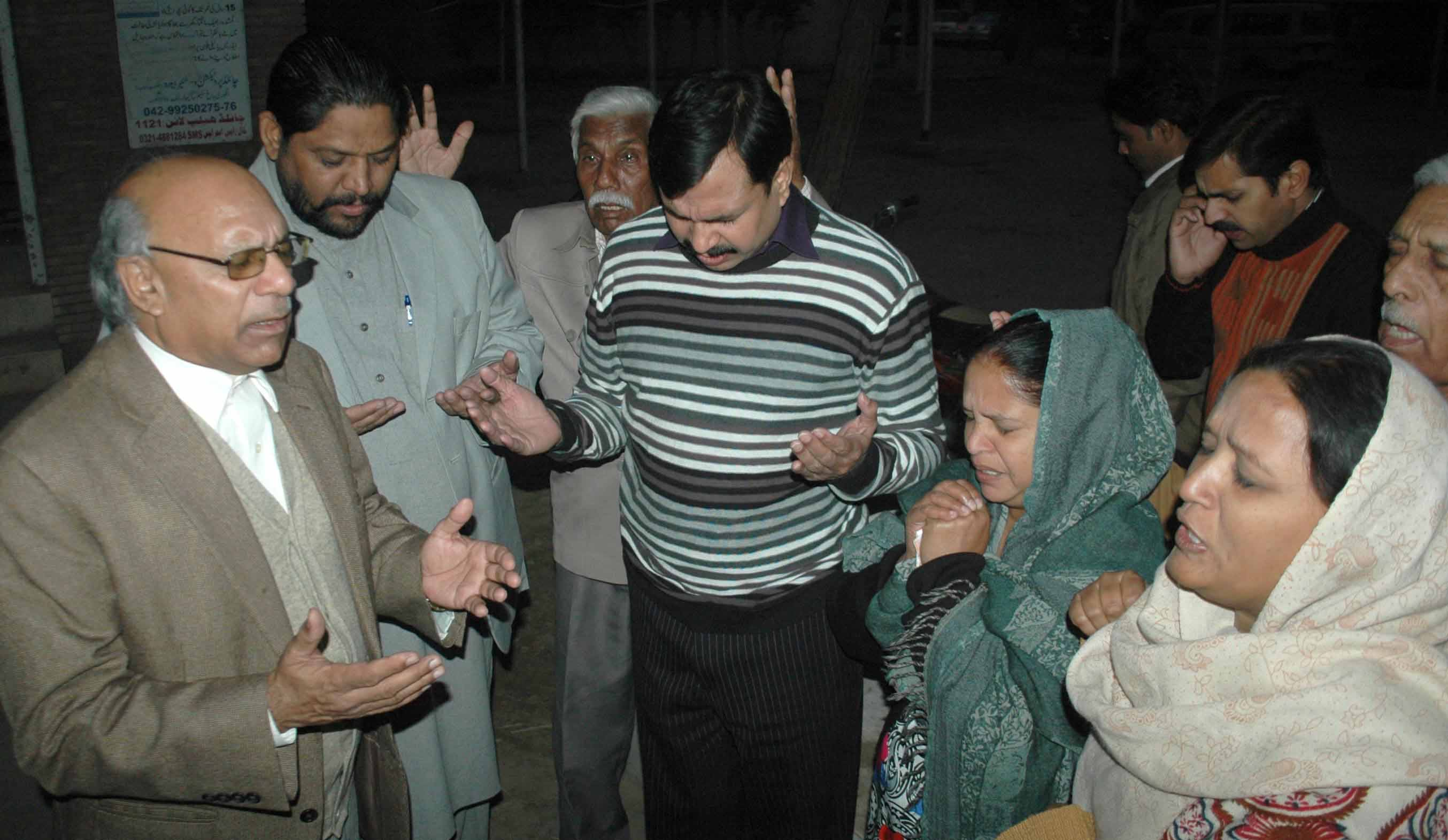- Christians-pray-for-Birgitta-Almby-outside-Jinnah-Hospital-in-Lahore