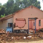 Hindu extremists destroyed Blessing Youth Mission Church in Chippagiri Gowtown village, Karnataka.