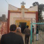 Barnala village church in Pakistan of Parvaiz Masih, who has suffered attacks from Islamists.