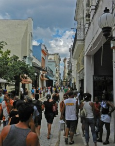 On the street in Old Havana, Cuba, where the Communist regime persecutes Christian church members. (Morning Star News photo)
