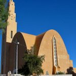 The Ibn El-Houeyretar mosque in Bechar, Algeria was Notre Dame Du Sahara church before Muslims took it over in 2006. (Morning Star News photo)