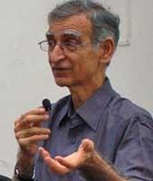 Ram Puniyani of the All India Secular Forum (Wikipedia)