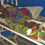 Regina Luka lost her husband and two children, ages 2 and 4, in Feb. 21 attack by unknown assailants in Plateau state. (Morning Star News photo)