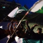 Pakistan's flag amid demonstrations. (Morning Star News file photo)