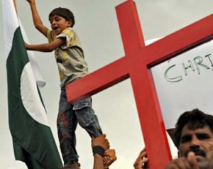 Protests against Pakistan's blasphemy laws. (Thepersecution.org photo)