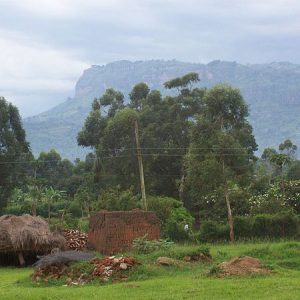 Rural Mbala, Uganda, near Pentecostal Theological College. (photo Michael Shade)