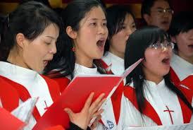 Worshippers at Beijing Shouwang Church. (CAA photo)