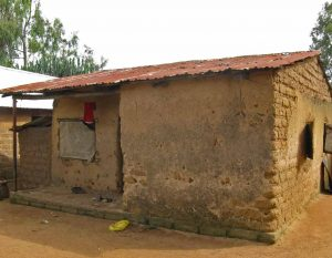 House outside Jos, Nigeria where five family members were slain. (Morning Star News)
