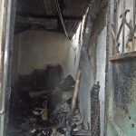 Fire damage to Salvation Army Church in Mombasa, Kenya from Islamic extremist persecution. (Morning Star News)