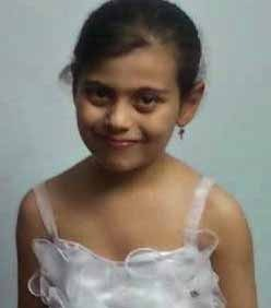 Mariam Ashraf Mesiha, 8, one of two girls killed in shooting by suspected Islamic extremists responsible for persecution of Christians. (Morning Star News courtesy of family)