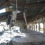 EYN church building in Maiduguri, Borno state after destruction. (Morning Star News via Z. Bulus, EYN)