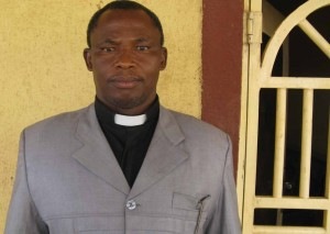 The Rev. Barnabas Kebang of COCIN church in Bokkos. (Morning Star News)