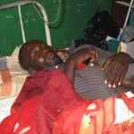 Chom Philip, wounded in Muslim Fulani attack on predominantly Christian town of Gwol. (Morning Star News)
