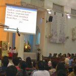 Worship in Malay language at church in Seremban, Malaysia in 2009. (Wikipedia)
