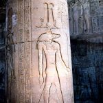 Engraved image at Temple of Kom Ombo, Egypt. (Eliane Ceccon)