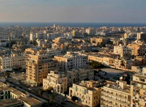 Suspected Islamist militants took victims from their Benghazi apartment building. (Wikimedia, Dennixo)