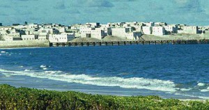 Coastal town of Barawa, in southeastern Somalia. (Wikipedia)