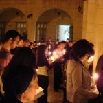Easter at a Damascus church. (Aid to the Church in Need)
