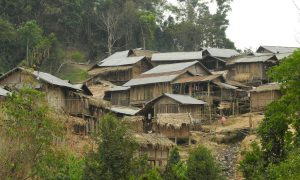 Lao village. (News4Christians)