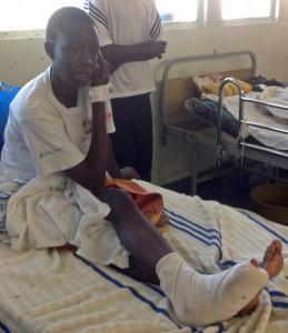 Sarah Ambetsa, widow of slain assistant pastor Phillip Musasa. (Morning Star News)