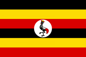 Flag of Uganda. (Wikipedia)