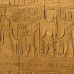 Engraved image at Temple of Kom Ombo, Egypt. (Wikipedia)