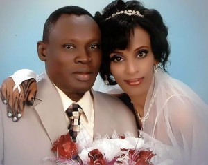 Meriam Ibrahim and Daniel Wani. (Morning Star News)