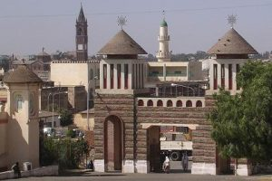 Mosque, Eritrean Orthodox and Catholic churches in Asmara, Eritrea. (Wikipedia)