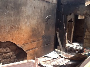 Room where pastor's wife, Tina Aku, was killed in Fadan Karshi, Kaduna. (Morning Star News)