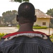 Boko Haram members cut the back of the neck of Adamu, a Christian in Gwoza, Borno state. (Morning Star News)