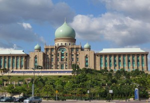 Perdana Putra building, offices of the prime minister of Malaysia. (Wikipedia)