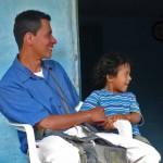 Pabel A. Losada Trujillo with son Israel David, 5. (Morning Star News)