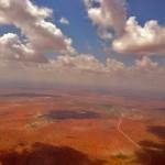 Aerial view of Wajir, in northeastern Kenya. (Wikipedia)