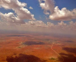 Aerial view of Wajir, in northeastern Kenya. (Wikipedia)