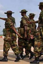 Nigerian troops. (Wikipedia)