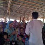 Pastor Daniel Singh at Salvation for Asia Church in Swar, Uttar Pradesh. (Morning Star News)