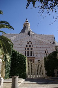 Church of the Annunciation in Nazareth. (Wikipedia)
