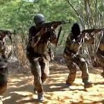 Al Shabaab militants in Somalia. (Wikipedia)