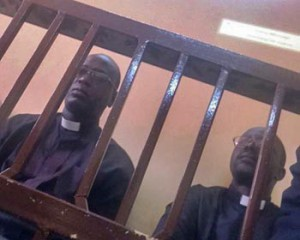 The Rev. Yat Michael and Rev. Peter Yen Reith during trial. (ACLJ)