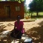 Darkened image of college student beaten and raped in eastern Uganda. (Morning Star News)