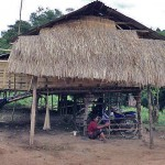 Typical village home in Laos. (Christian Aid Mission)