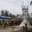Influential Monk in Burma Builds Buddhist Structures on Church Property