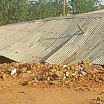 Demolished building of Sudanese Lutheran Church. (Morning Star News)