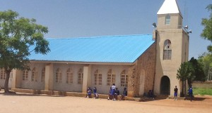 ECWA Gospel 1 Church in Jos, where bombs were planted on July 12. (Morning Star News)