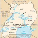 Map of Uganda. (CIA)