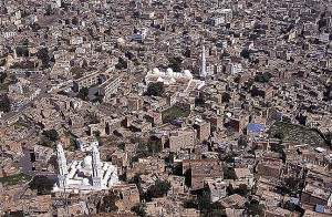 Taiz, in southwest Yemen. (Wikipedia)
