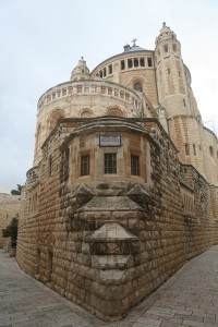 Basilica of Dormition Abbey on Mt. Zion. (Courtesy of Dormition Abbey)