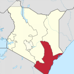 Kenya's Coast Province. (TUBS, Wikipedia)