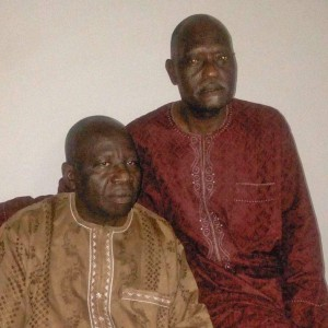 The Rev. Emmanuel Dziggau (left), HEKAN president, and the Rev. Yakubu Dzarma. (Morning Star News)